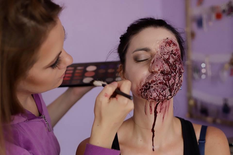 specialniefekty maskovani vizazistka makeupart makeupartist chomutov czech